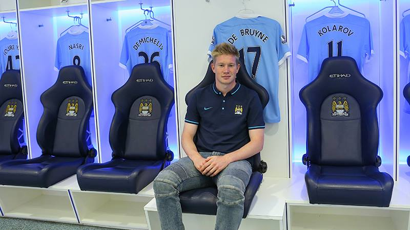 purchase cheap b57ca c2ef9 Kevin De Bruyne Should Start Right Away For Manchester City