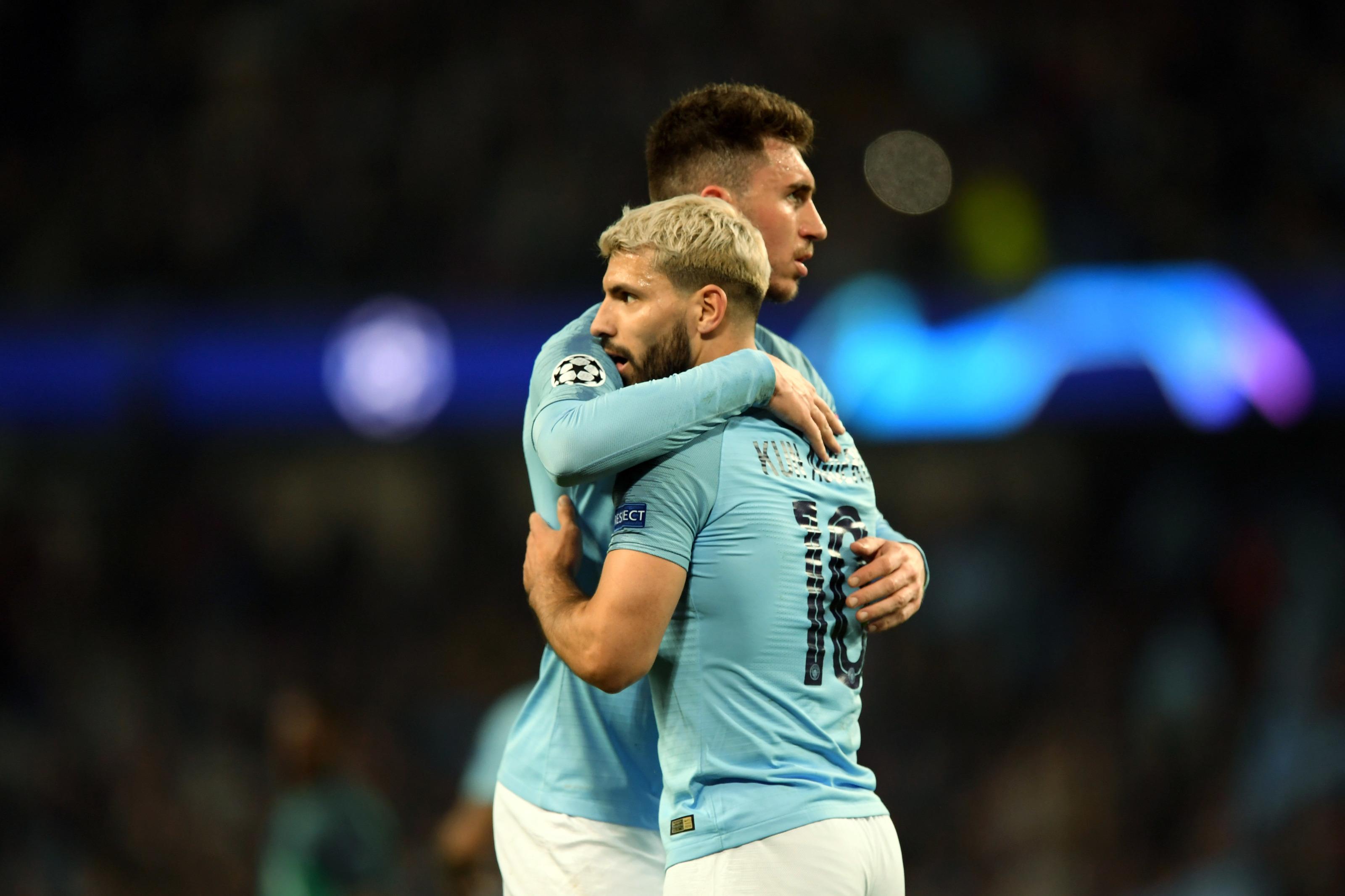 Aymeric Laporte Manchester City Away Jersey