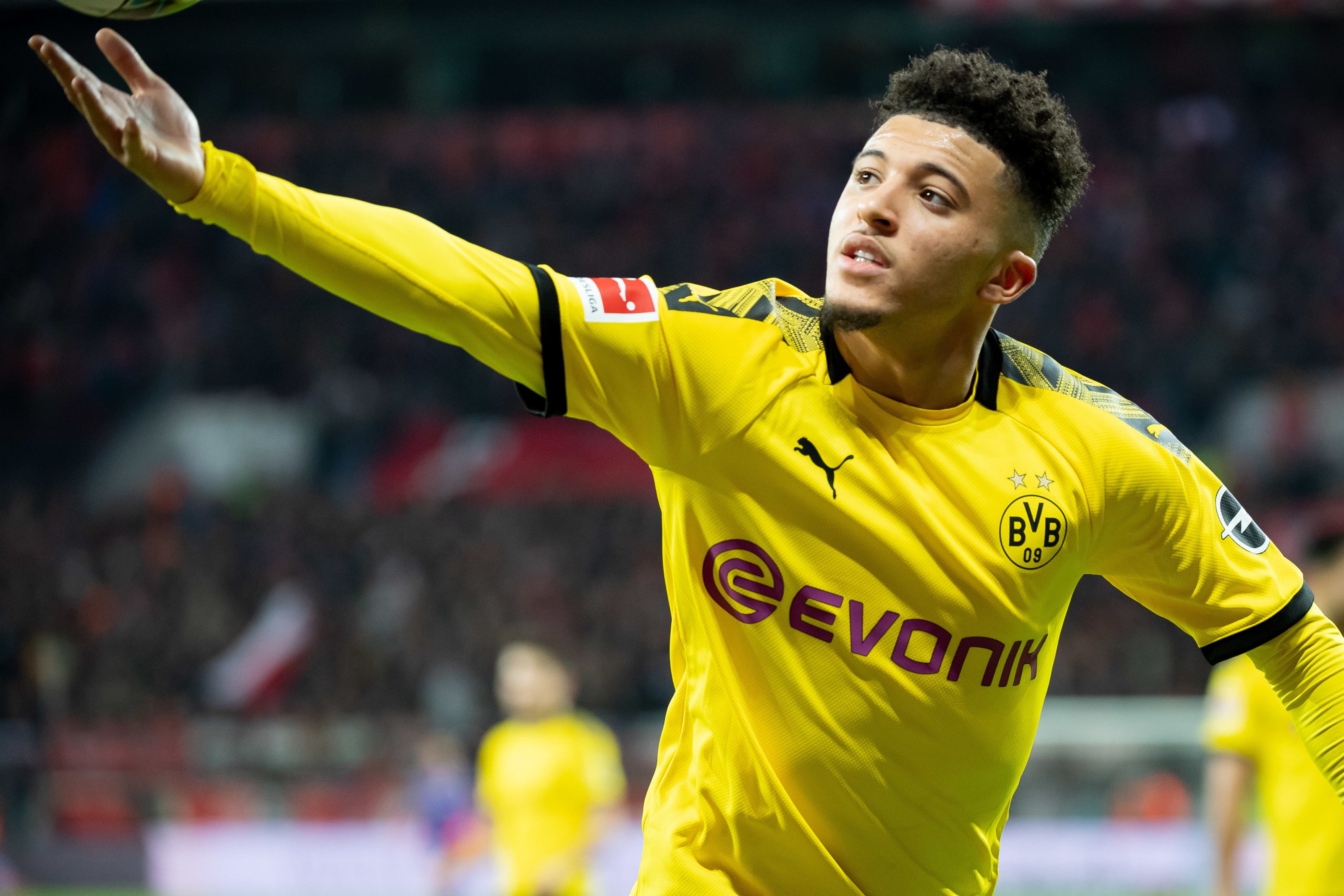 Will Manchester City challenge United for Jadon Sancho?