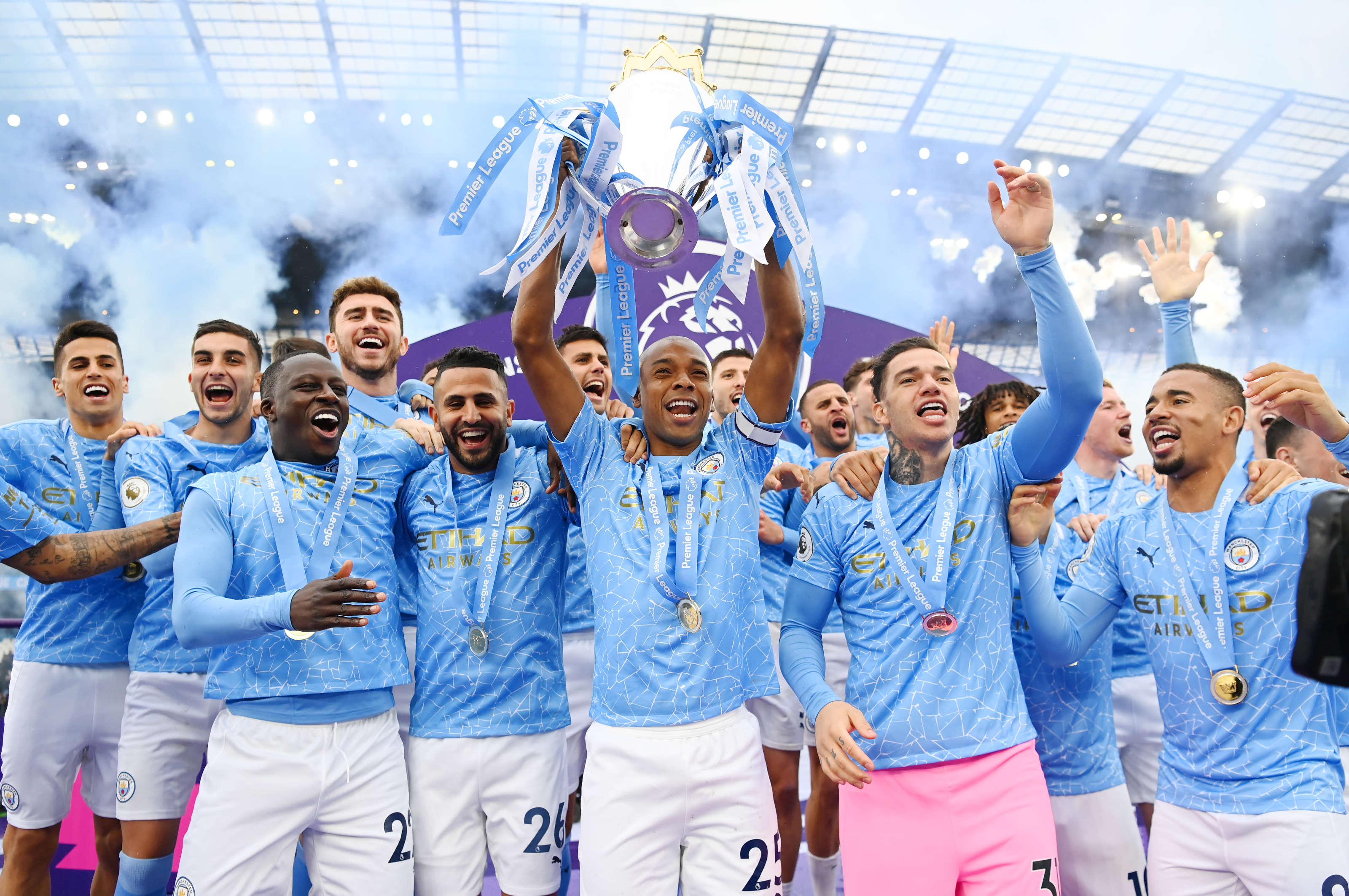 Six Manchester City Players Included In The Pfa Team Of The Season