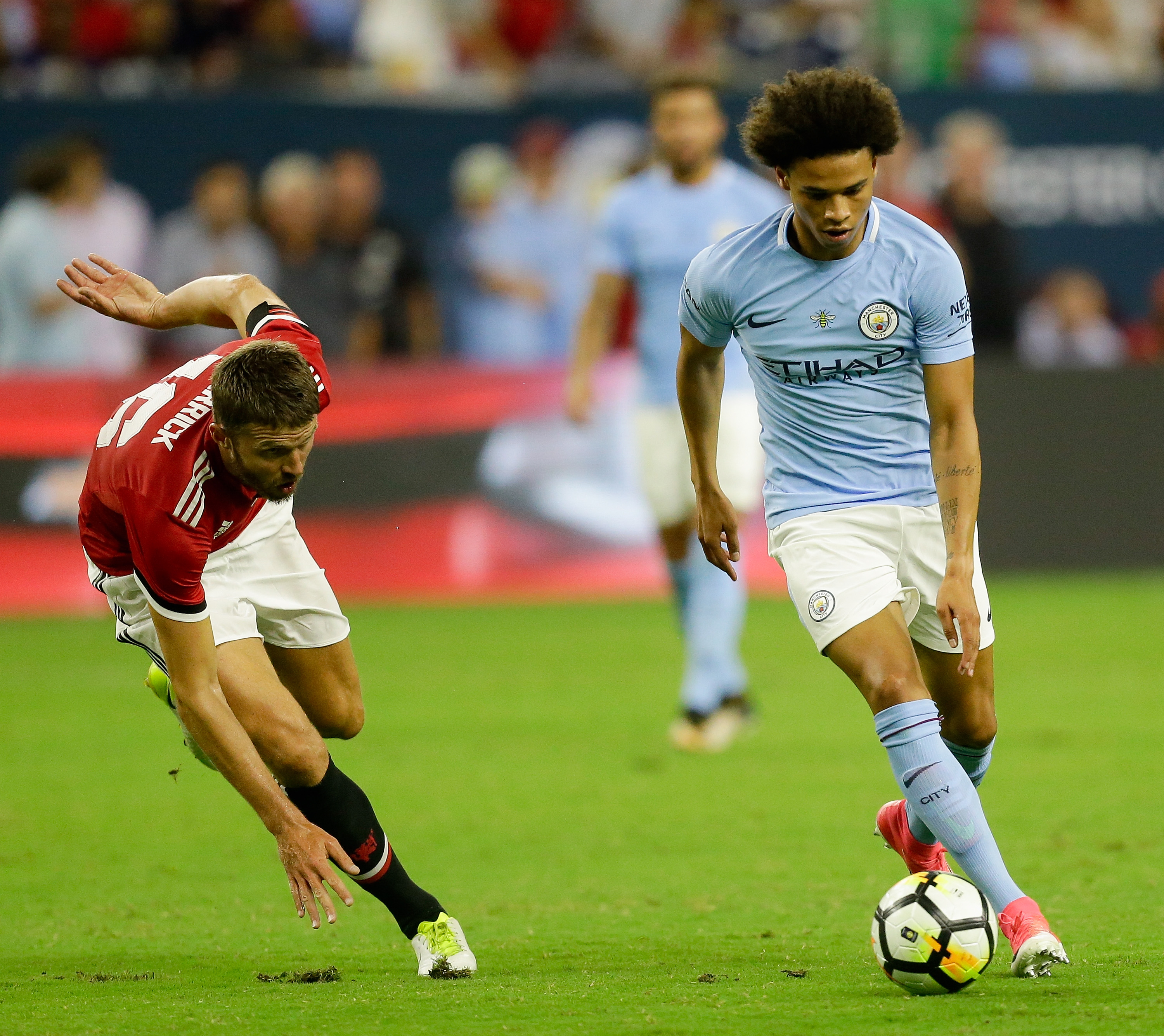 Manchester City Fc 2017 18 Player Preview Leroy Sane