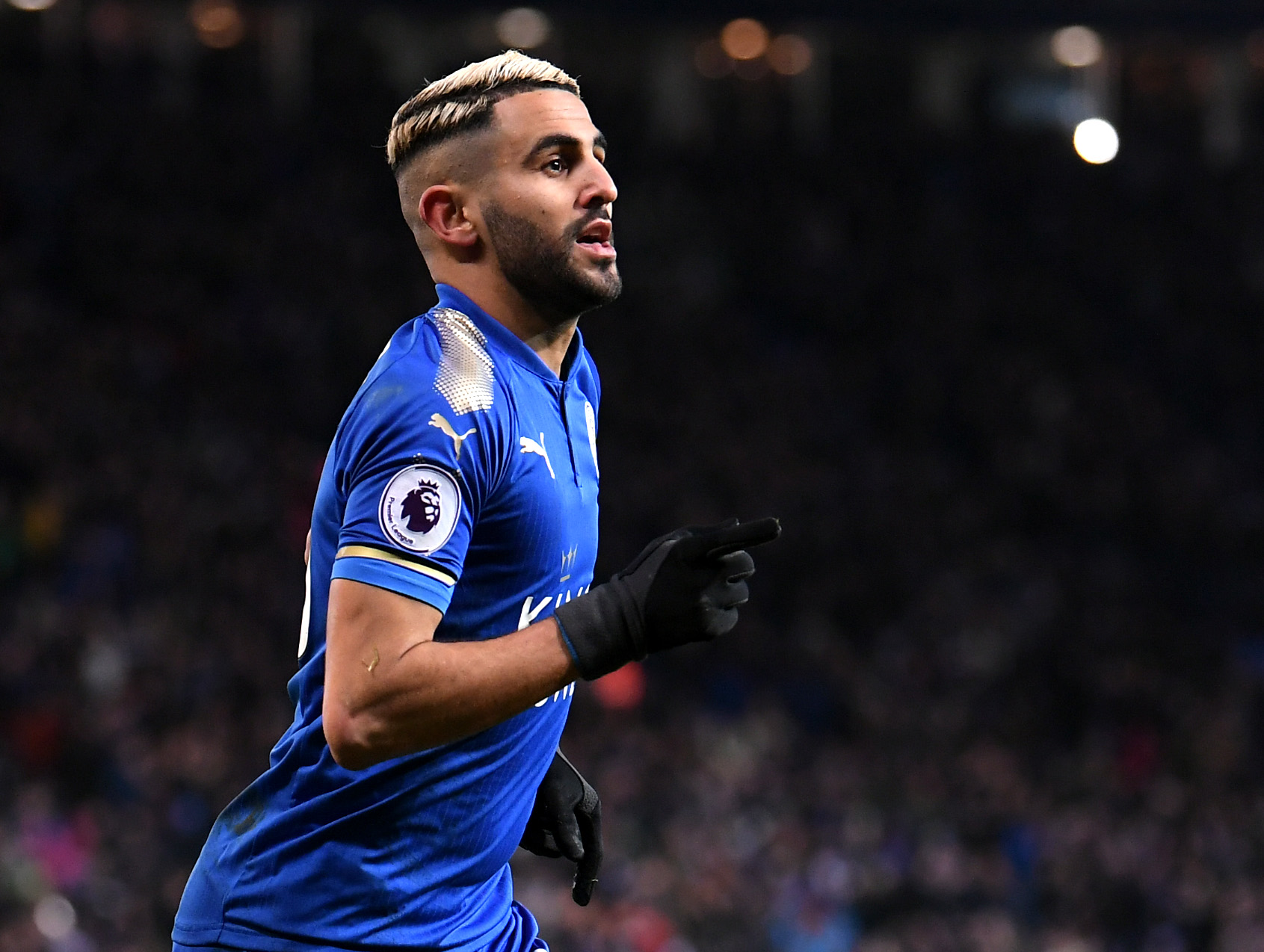 Manchester City: Riyad Mahrez To City